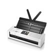 Brother ADS-1700W Wireless Compact Color Desktop Scanner With Duplex And Touchscreen